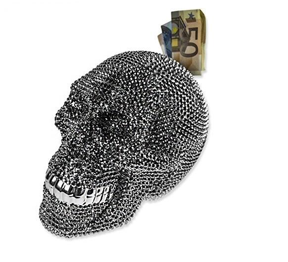 Krājkase kristāla galvaskauss Kare 32021
